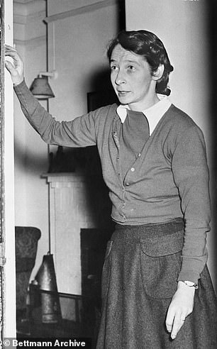 Philby was a 25-year-old reporter for The Times and had just returned from covering the Spanish Civil War when he met rebellious Aileen Furse (pictured) in London in 1937