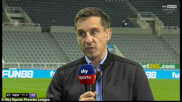 Gary Neville has said news of Derby going into administration is a 'devastating blow' to football