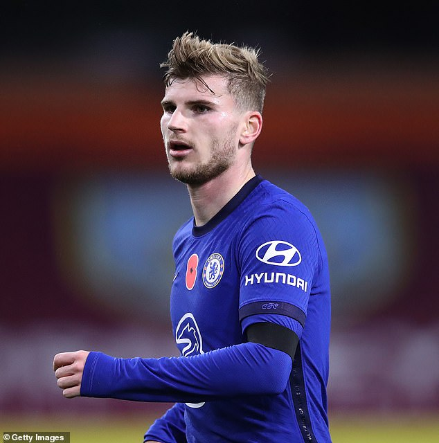 Tim Sherwood believes Timo Werner will 'struggle' to cement a regular place in the team