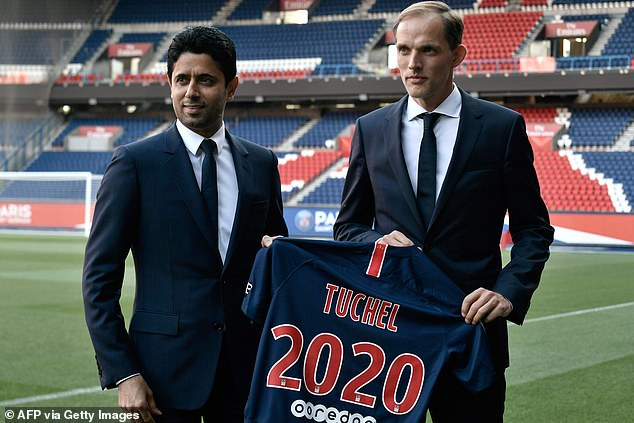 Tuchel spent two years at the helm of the Ligue 1 club - having joined Bundesliga outfit Borussia Dortmund - and lived in the Hauts-de-Seine district of France's capital city