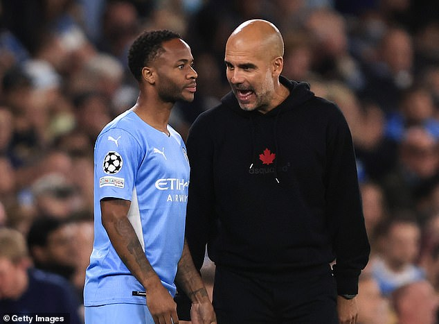 Pep Guardiola says there is more to come for Sterling despite his limited first-team minutes