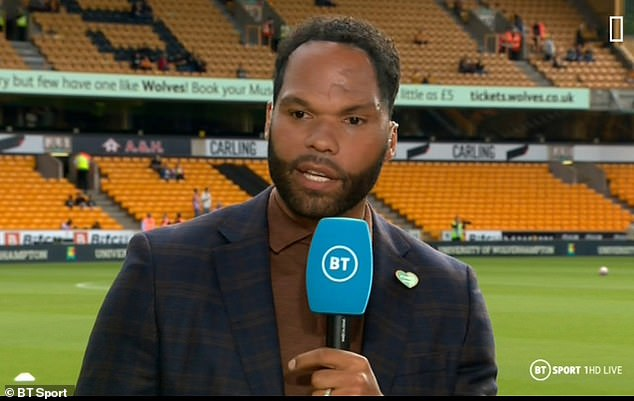 Jolene Lescott (above) says Pep Guardiola didn't mean to disrespect Manchester City fans when he asked for more attendance during their clash with Southampton.