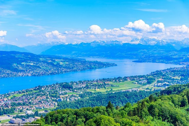 Head for heights: Enjoy panoramic views over the city from the top of theUetliberg mountain