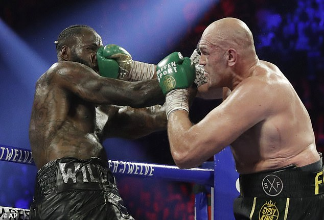 Fury defeated Wilder via technical knockout last February, and will defend his WBC title next month