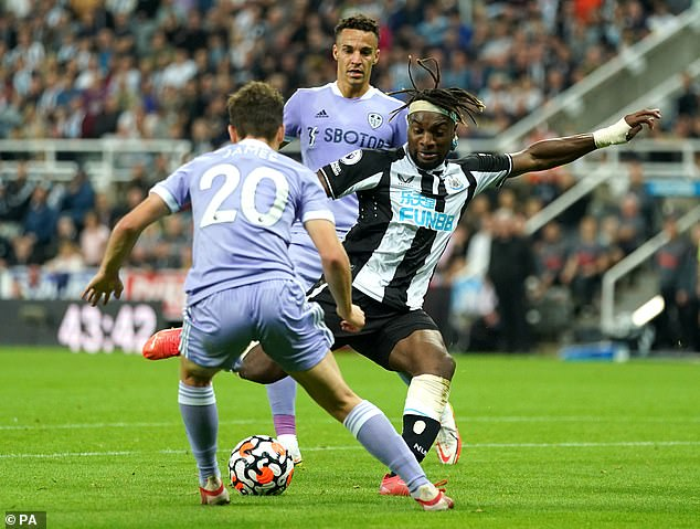 The mercurial Frenchman scored a stunning equaliser to hand the Magpies a 1-1 Premier League draw with Marcelo Bielsa's men on Friday evening