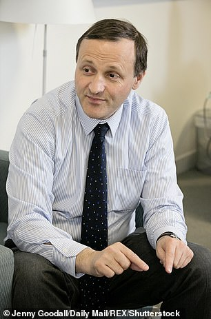 Modest: Former minister Steve Webb grew up in a household that was tight-lipped