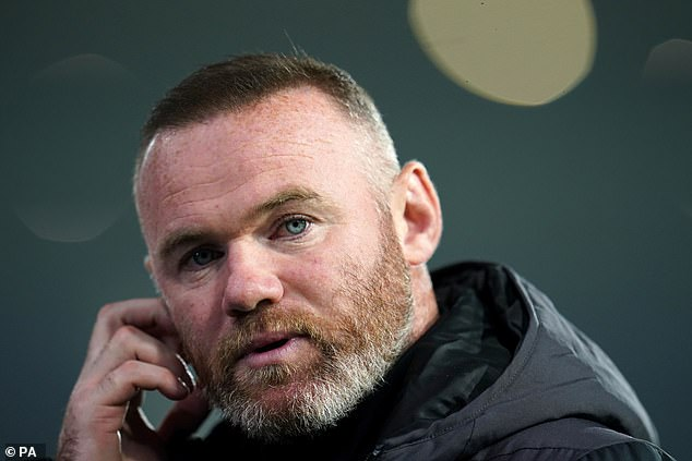Wayne Rooney has revealed he found out the club were going into administration on TV