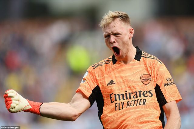 Goalkeeper Aaron Ramsdale, who was again preferred to Bernd Leno, managed to keep a clean sheet as the Gunners won