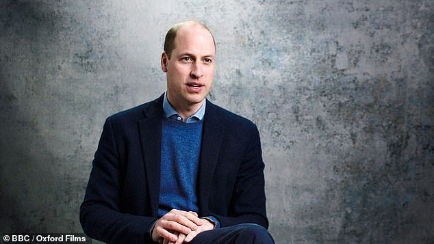 Prince William, who trained as an Army officer but has undertaken attachments with the RAF and Royal Navy, added: 'He's always set a very good example about how we have to look after the welfare of the military'