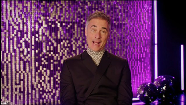 So up for it! Greg Wise enthused: 'Give me all the feathers, all the sequins. I am ready to give 100%. This 55 year old man might surprise you!'