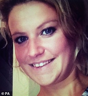 Sam Pybus, 32, had drunk 24 bottles of beer before strangling 33-year-old Sophie Moss, pictured, a vulnerable mother-of-two, during what was described at Teesside Crown Court earlier this month as 'consensual rough sex' at her flat in Darlington