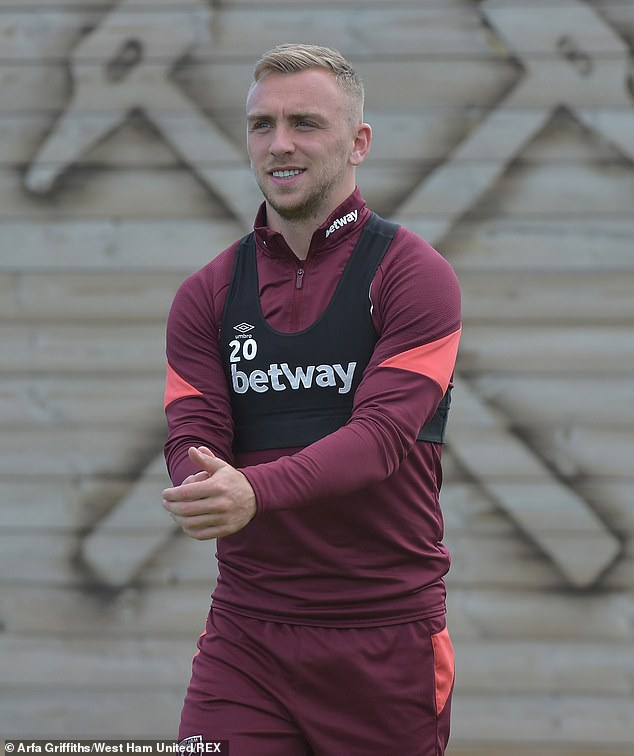 Jealousy: Sammy is said to have become enraged by Dani's close friendship with West Ham player Jarrod Bowen (pictured) and asked his friend to keep an eye on the pair