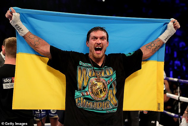 The Ukrainian faces Joshua on September 25 and has not been defeated yet in his career