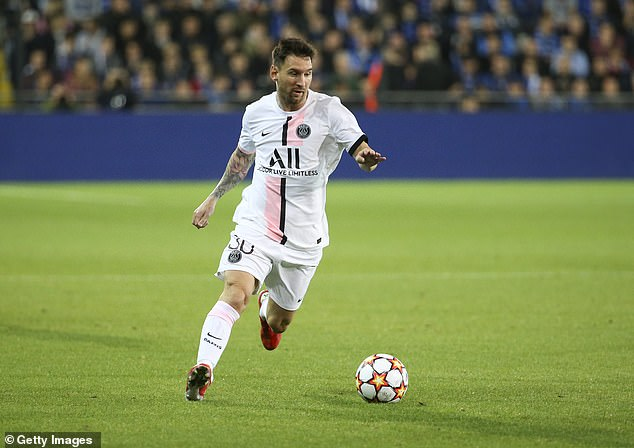 Leonardo insisted that Messi's (above) contract at PSG will last for two years, not three