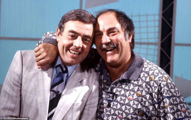 Greaves formed a brilliant on-screen partnership with Ian St John for their television show Saint and Greavsie