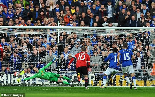 De Gea last saved a penalty in 2016 in open play from then Everton striker Romelu Lukaku