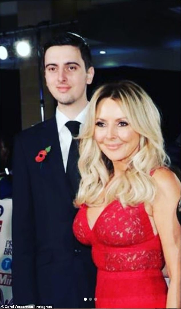 , Carol Vorderman's son Cameron thanks fans for their support after receiving a first class degree, The Evepost BBC News