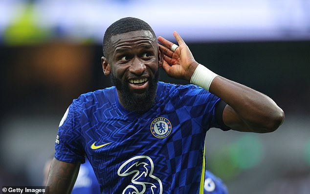 Antonio Rudiger puts the icing on the cake as the Blues move to the top of the Premier League table