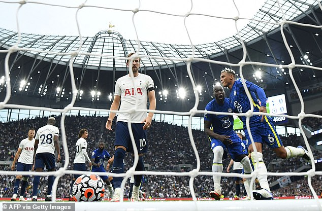 Kane has not scored in his first four league matches for the first time since the 2015–16 season.