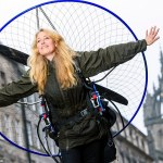'Human swan' in horror crash: Paraglider seriously hurt in crash that kills colleague in record bid 💥👩💥
