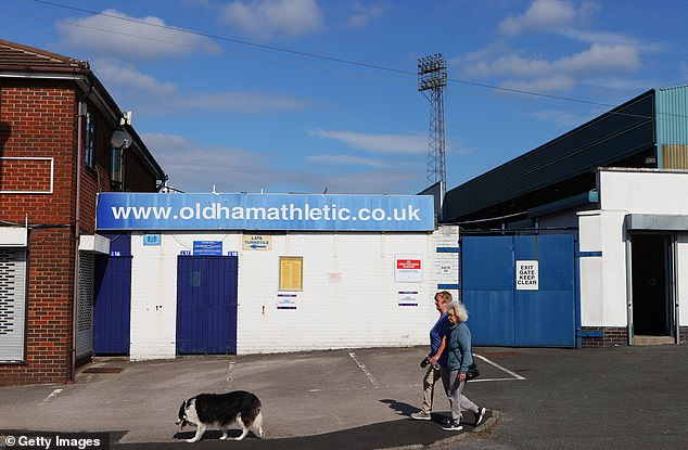 The old ground is in disrepair while theLemsagam brothers have been through nine managers