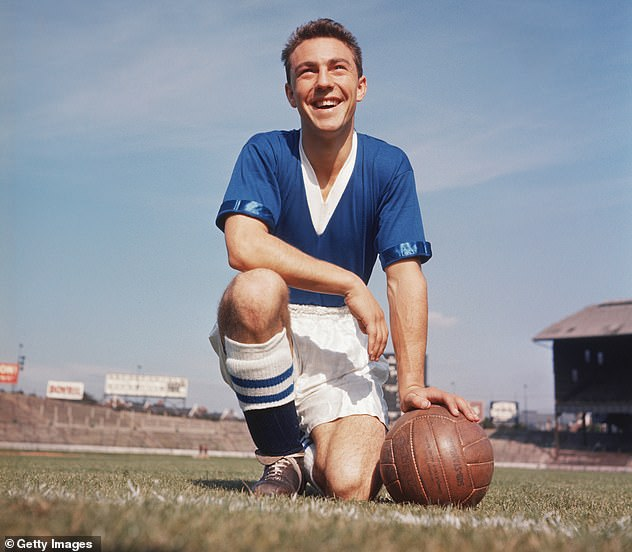 Jimmy Greaves scored 357 goals in 516 league games for Chelsea, Tottenham and West Ham