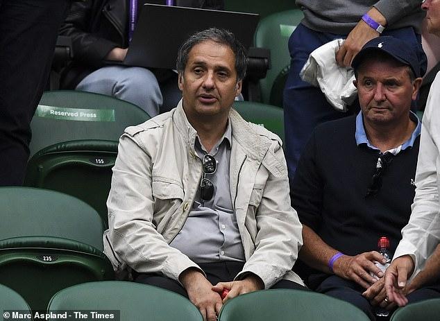 Ken Weatherley never felt Ian Raducanu (left) was pushy as he strived to help his daughter