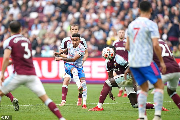 Lingard came off the bench in the second half and scored a stunning late goal to win the game