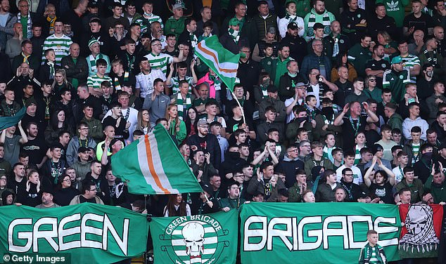 Celtic's travelling support have had very little to cheer over the past seven months