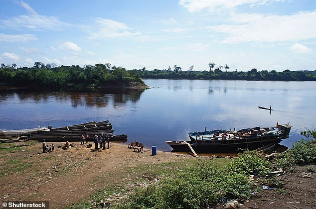 The Congo River (pictured here from Brazzaville in the Republic of the Congo) is the deepest and second fastest river in the world