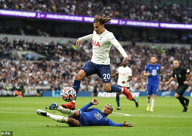 Alli has been playing a deeper midfield role in certain games but it dampens his creativity