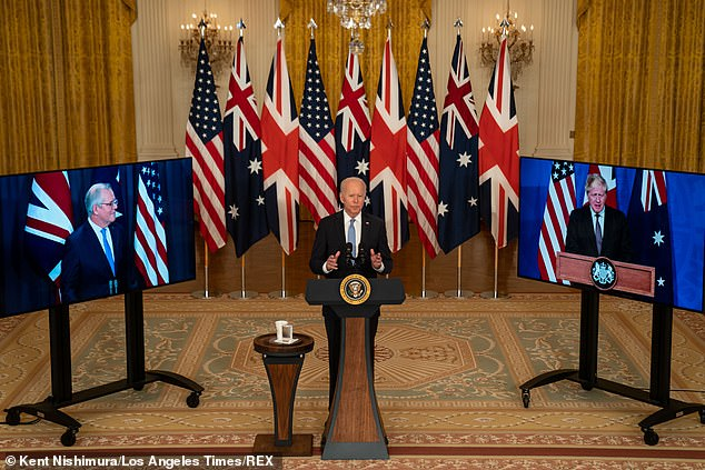 France was livid after learning about the new deal between the US, Australia, and the UK