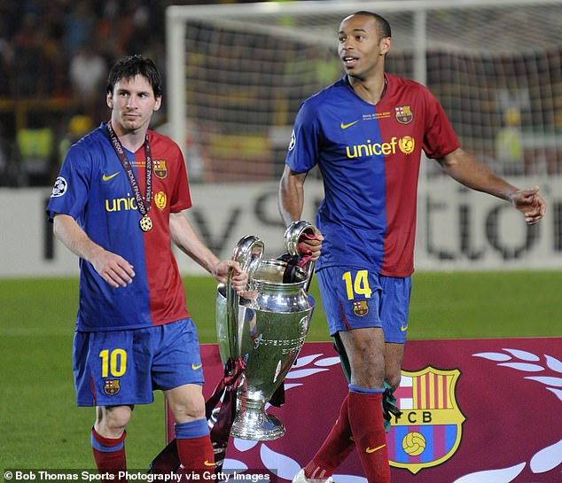 Henry is confident Messi will be able to excel for PSG but says that he requires time to adapt
