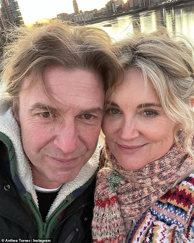 Whirlwind Romance: Anthea Said 'Sometimes when you're a little older and you've lived something tells you how perfect it is.  You just know'.