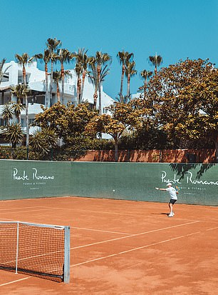 Puente Romano Beach Resort in Marbella, Spain, was opened by the former world No 1 Bjorn Borg