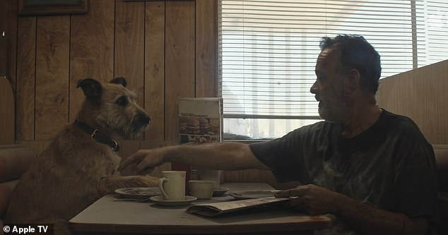 His best friend: All Hanks has is his best friend, a dog, whom he must protect