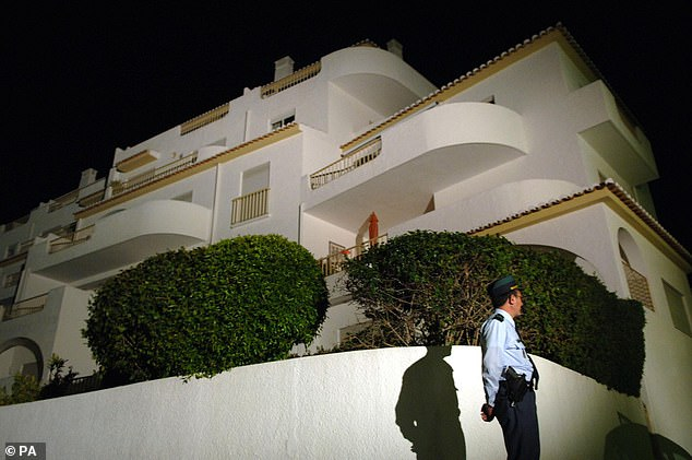 McCann says they repeatedly went to the Ocean Club hotel to check on the kids during the evening, but when Kate checked in at 10 p.m., they learned Madeleine had disappeared.