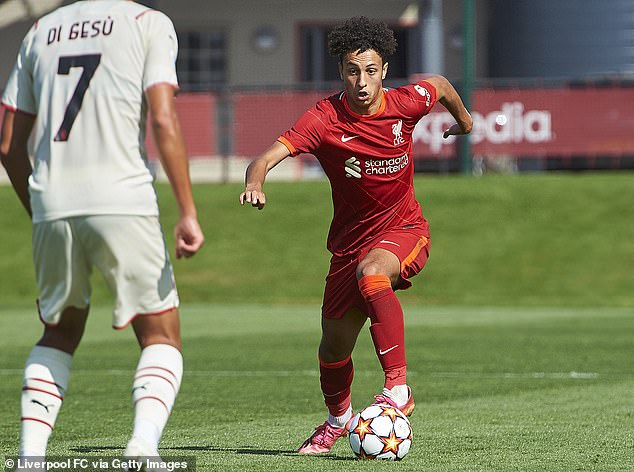 Kaid Gordon will make his Liverpool debut in the Carabao Cup tie at Norwich on Tuesday