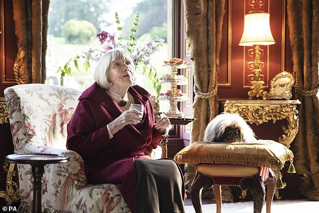 Celebrity: The actress takes over the role of Dame Diana Rigg, who tragically died in September at the age of 82 (featured in all but one of the great and small creatures in the series)