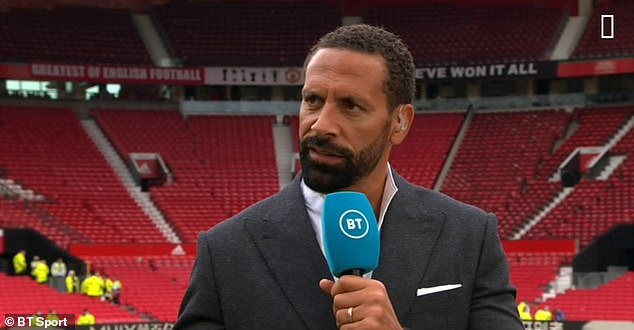 Former United defender Ferdinand says the past week for Lingard sums up life as a footballer
