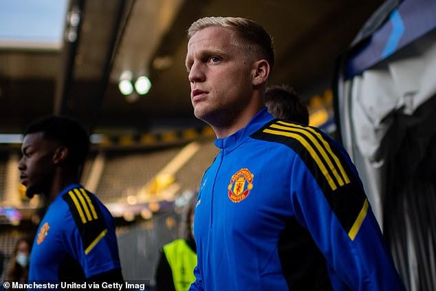 Donny van de Beek has played just six minutes of Premier League football this season