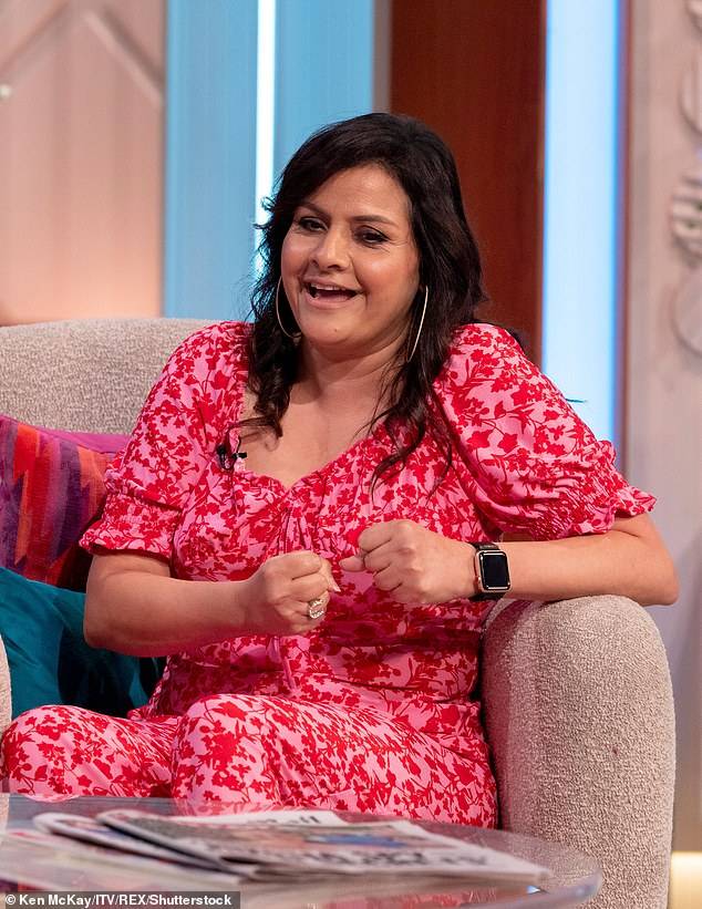 Big news: According to the Mumbai native, it was only after Lorraine surfaced that the reality of getting into the lucrative contest hit her [pictured last month]