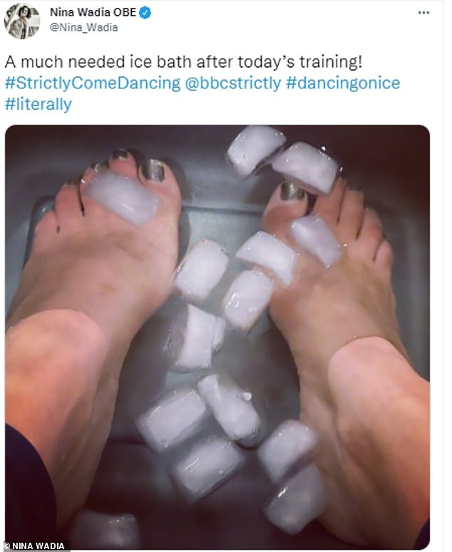 Good earning!  The soap star, 52, said about six hours of training was given initially, but is likely to be nearly doubled to 'get everything done'.