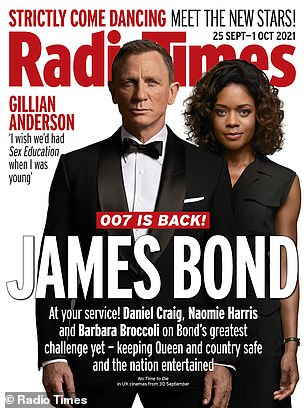 Read the full interview at Radio Times, on sale now