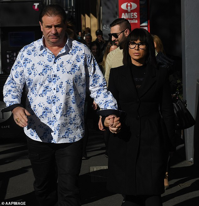 The militant union at the centre of violent protests in Melbourne has a long history of disruptive behaviour, antagonism towards government and illegal conduct. CFMEU Victorian construction branch secretary John Setka is pictured with wife Emma Walters