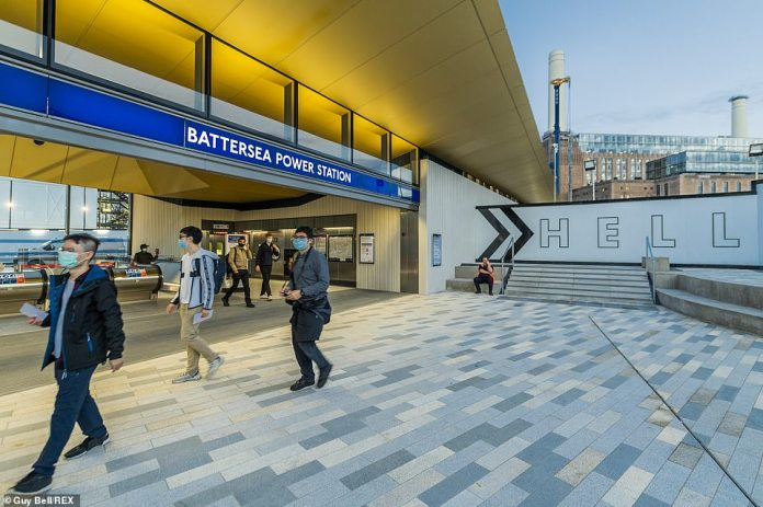 Two new underground stations open this week: one at Nine Elms and the other at Battersea Power Station