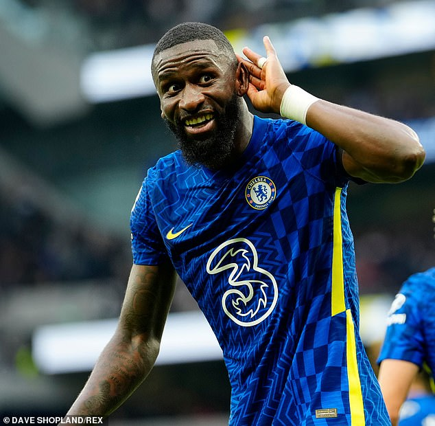 Antonio Rudiger is in good form and scored in Chelsea's win over Tottenham over the weekend
