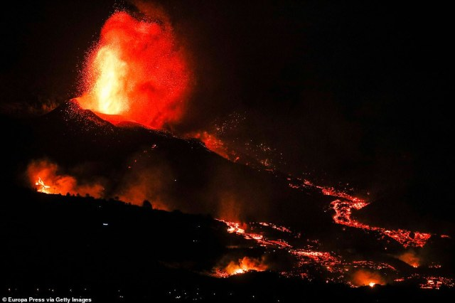 The eruption began on Sunday on theCumbre Vieja ridge, an area known for its volcanic activity but at a site that has not seen an eruption in the past. Experts believe it could last for weeks or even months