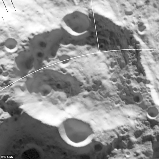 Nobel Crater painted by Diviner.  The area VIPER will study in the Nobel area covers an estimated surface area of 36 square miles (93 sq km), 10 to 15 miles (16 to 24 km), of which VIPER hopes to overcome during its mission.