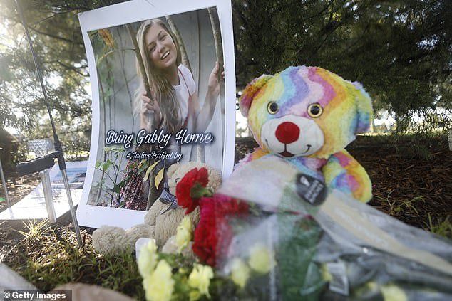 A makeshift memorial dedicated to Petito is located near City Hall in North Port, Florida